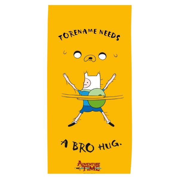 Adventure Time Bro Hug Towel Beach Towel