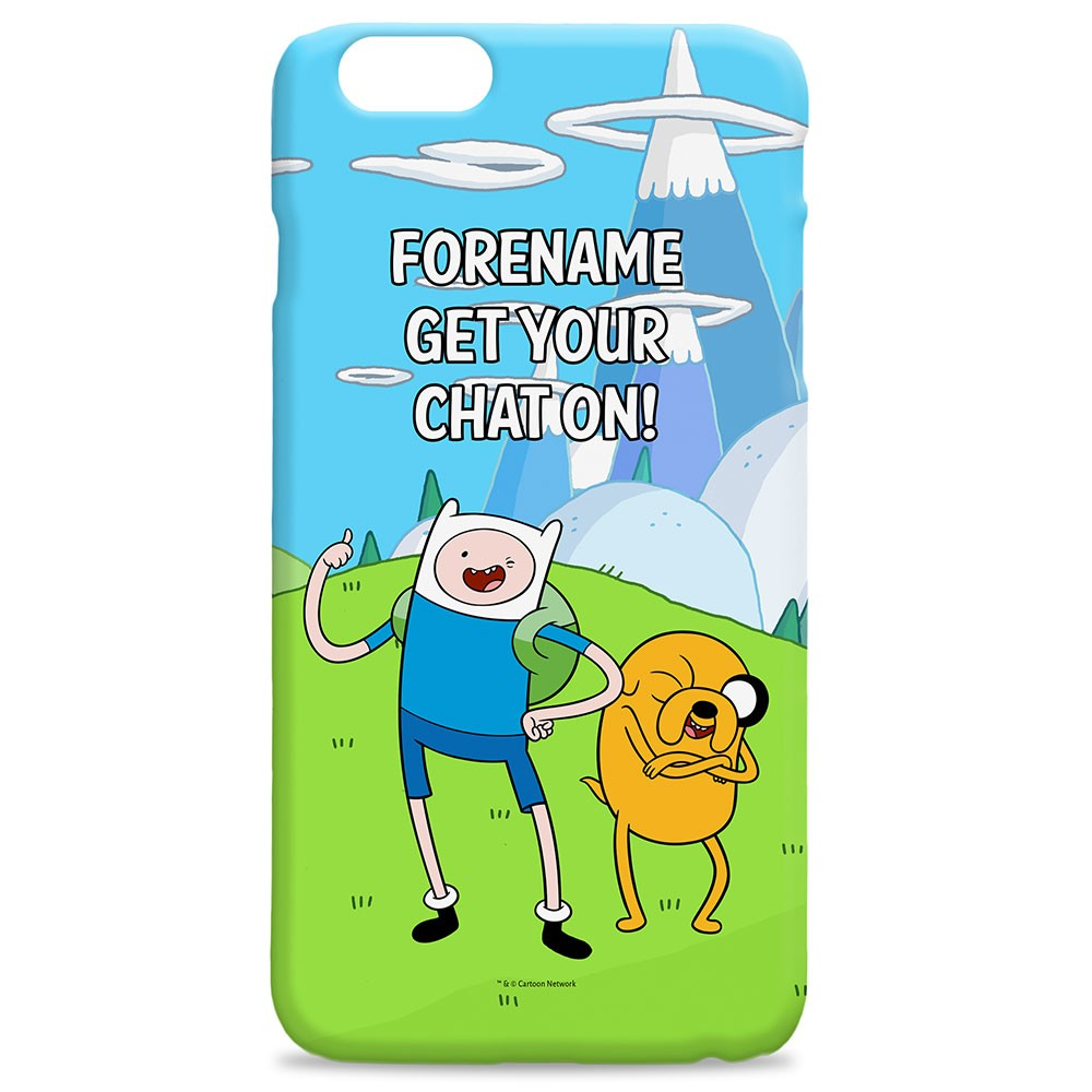 Adventure Time Chat iPhone Case