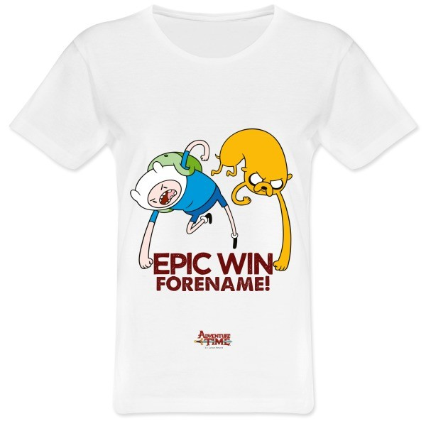 Adventure Time Epic Win Womens T-shirt