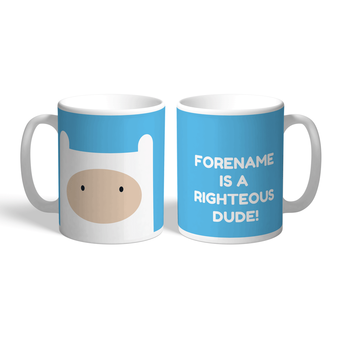 Adventure Time Finn Quote Mug