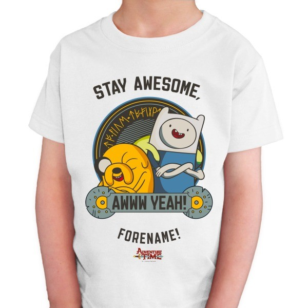 Adventure Time Stay Awesome Kids T-shirt