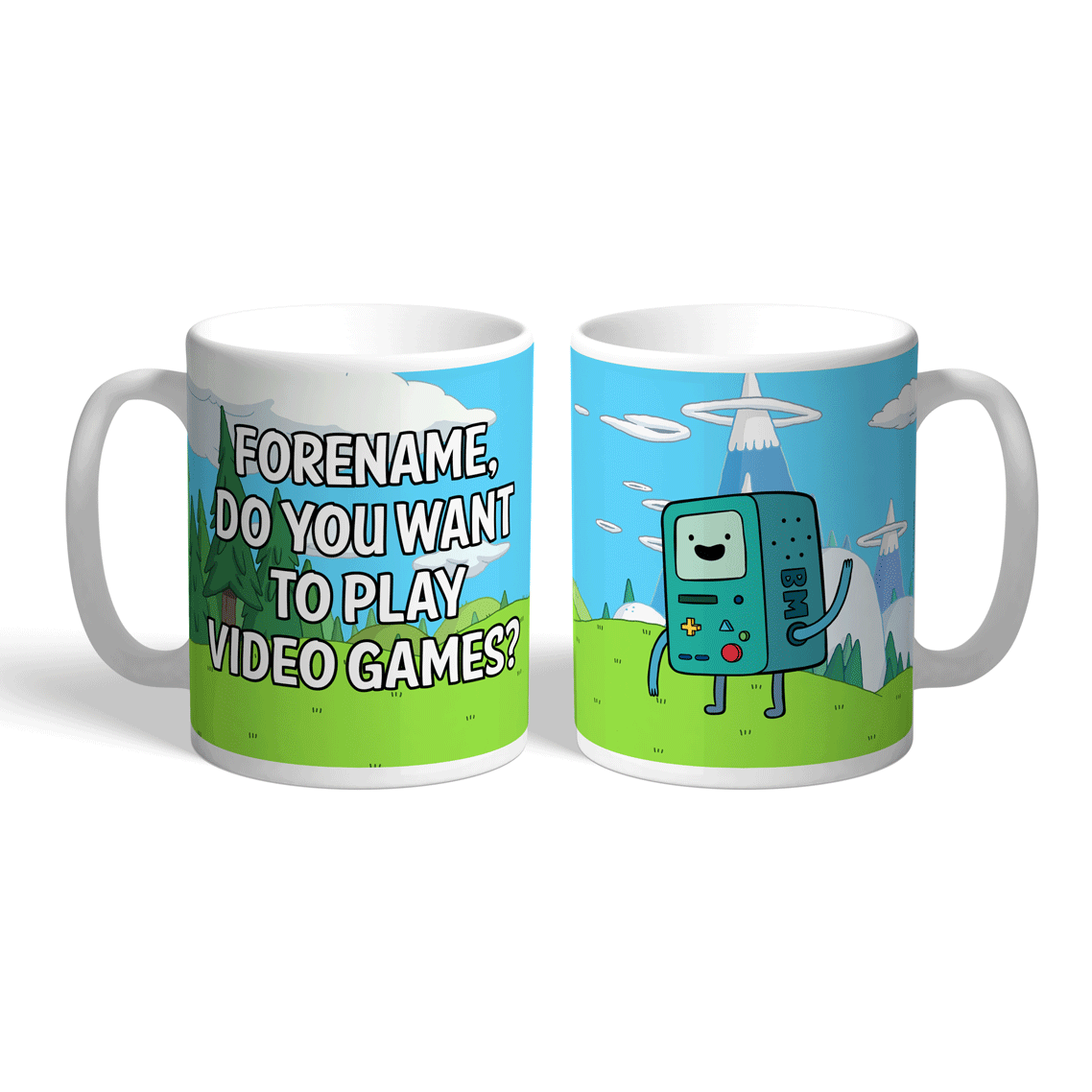 Adventure Time Video Games Mug