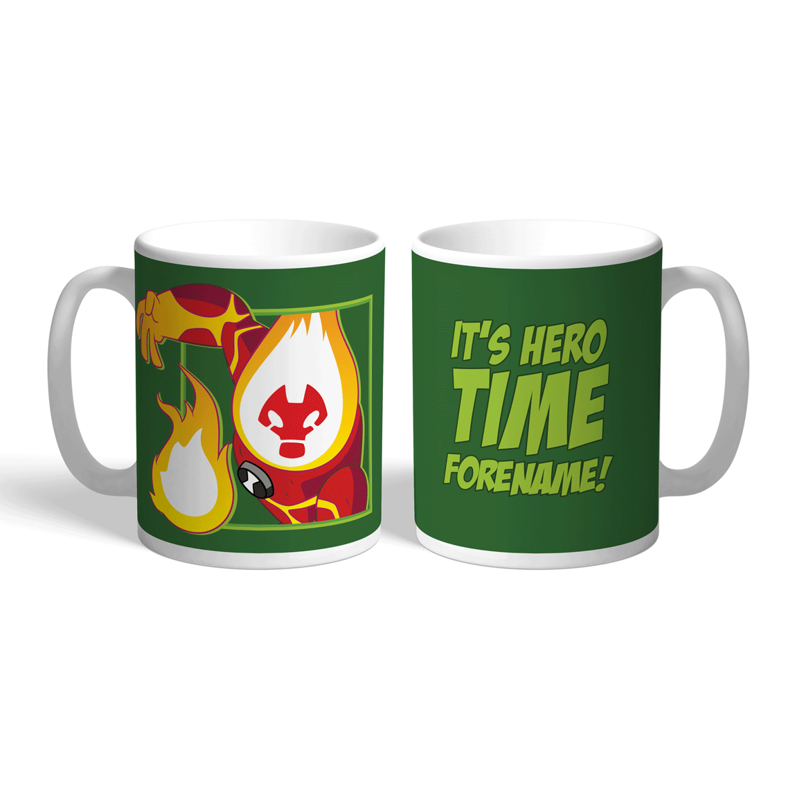 Ben 10 Heatblast Hero Time Mug