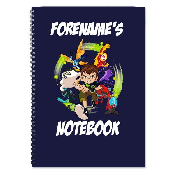 Ben 10 Names Notebook