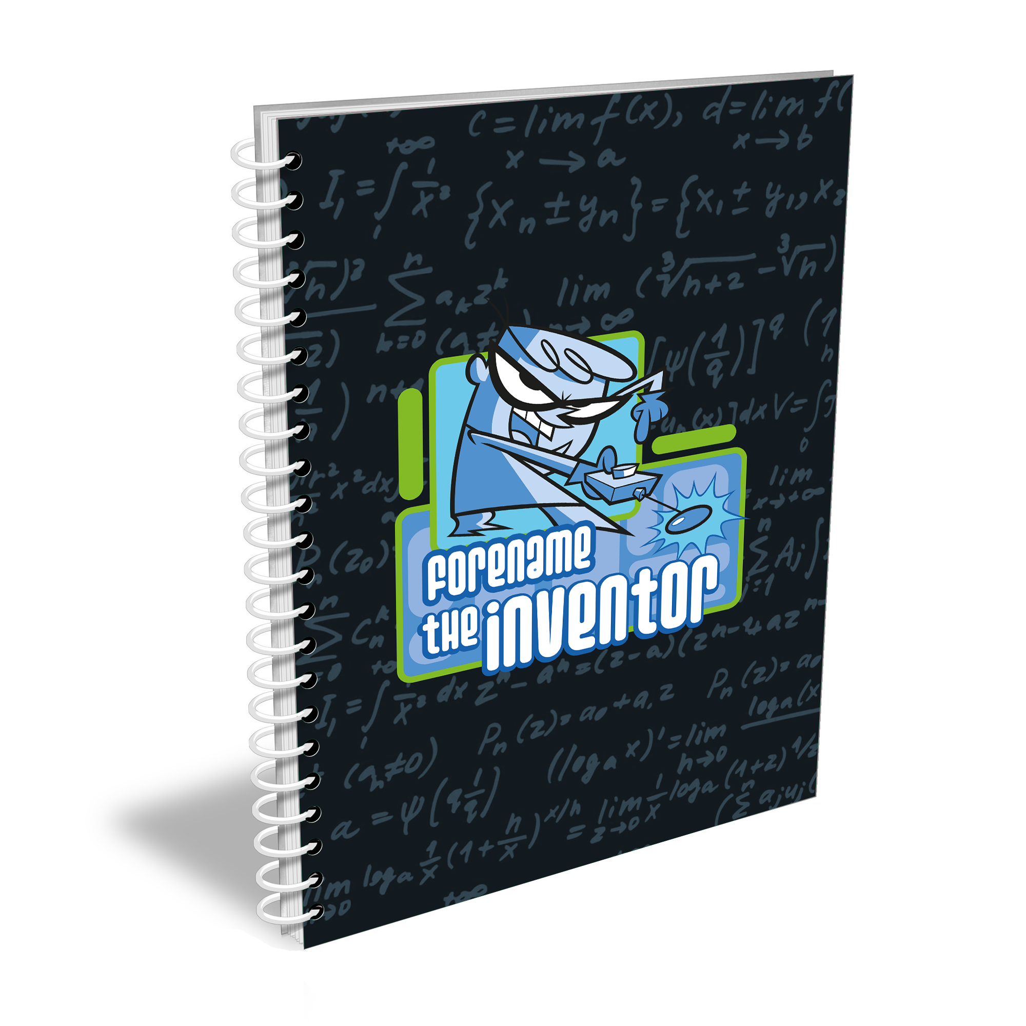 Dexter's Lab Inventor Notebook