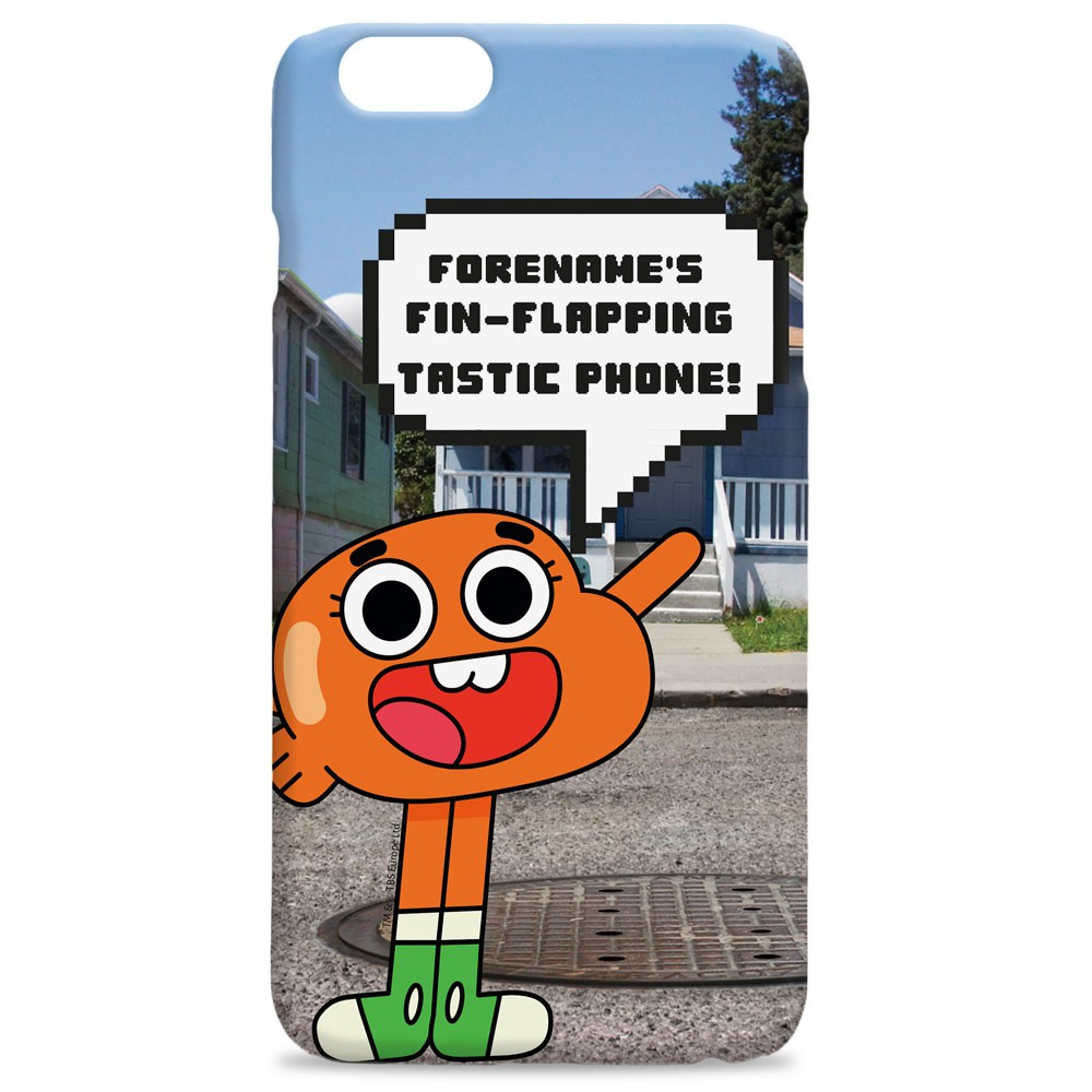 Gumball Darwin iPhone Case