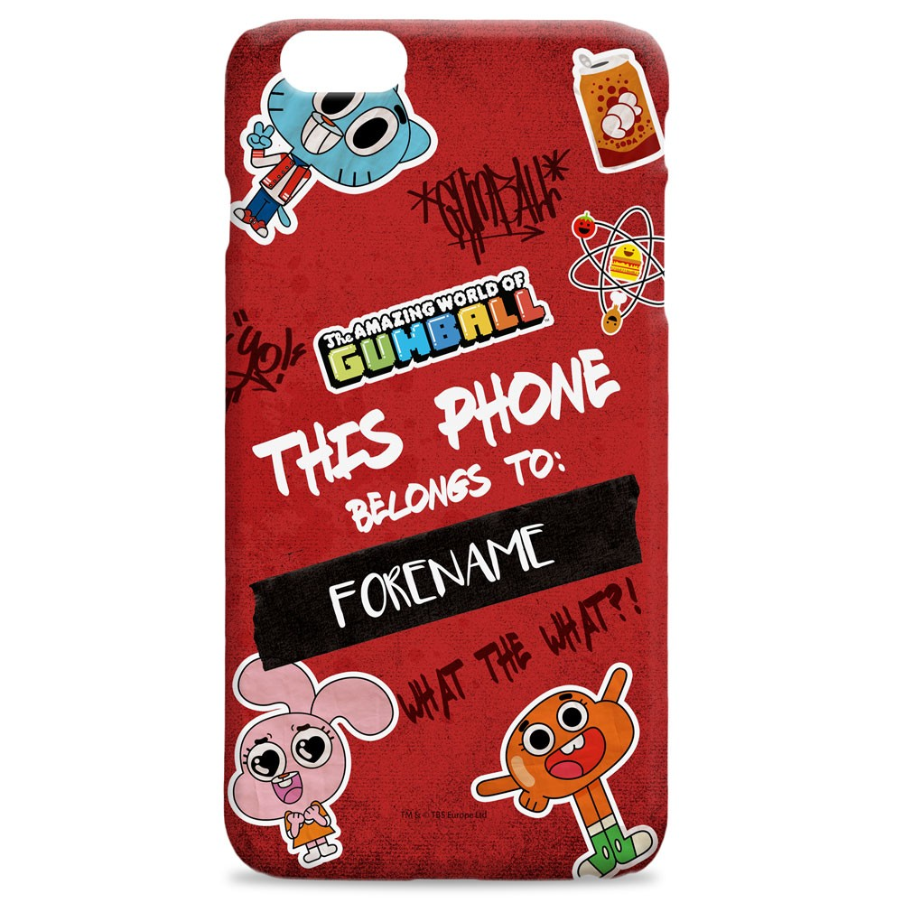 Gumball Year Book iPhone Case