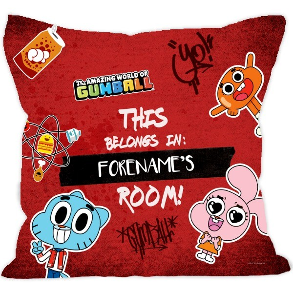 Gumball Yearbook Cushion