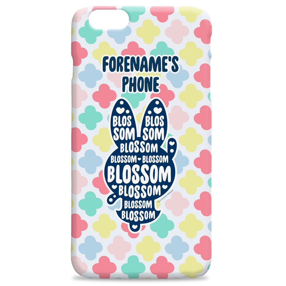 Powerpuff Girls Blossom Silhouette iPhone Case