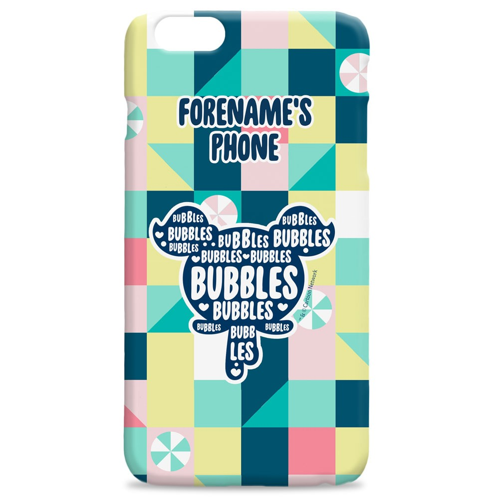 Powerpuff Girls Bubbles Silhouette iPhone Case