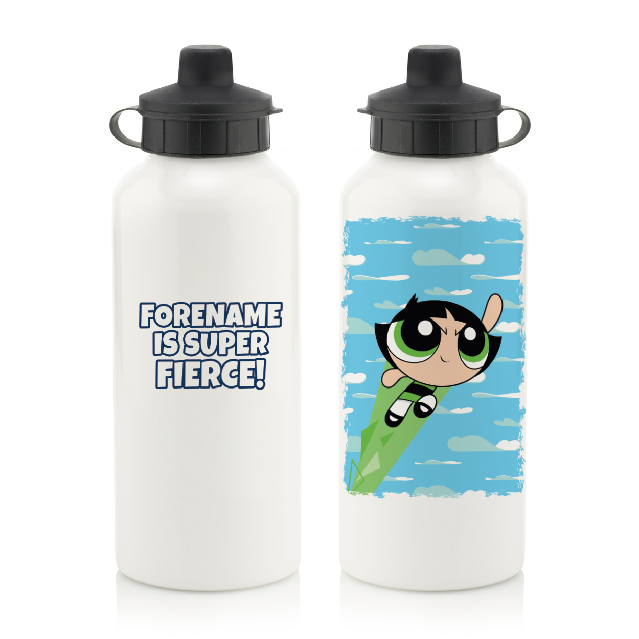 Powerpuff Girls Buttercup Cloud Water Bottle