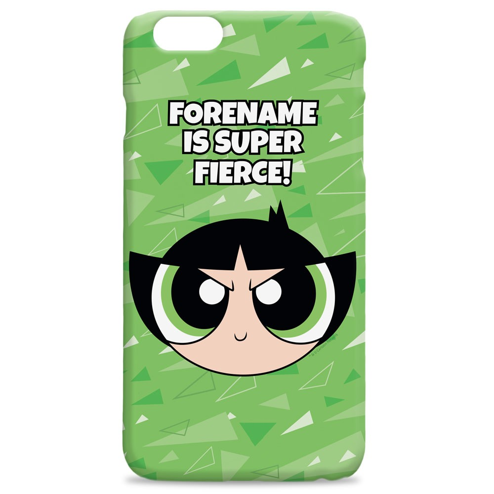 Powerpuff Girls Buttercup Pattern iPhone Case