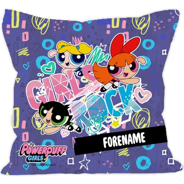 Powerpuff Girls Girls Rock Cushion