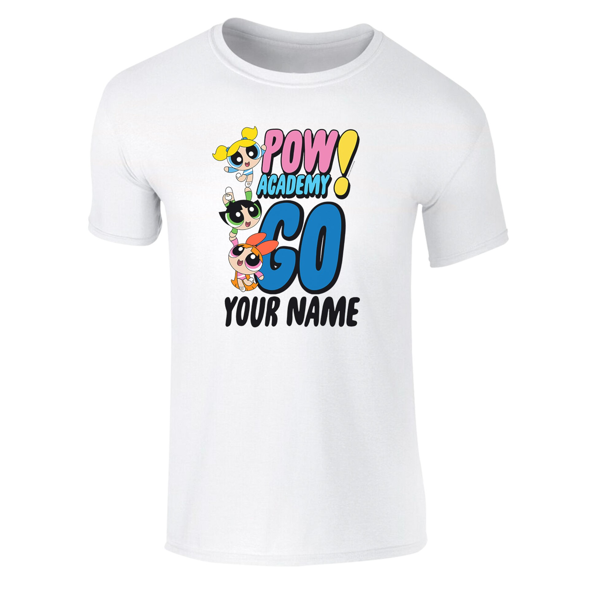 Powerpuff Girls Pow Academy Go Kids T-Shirt