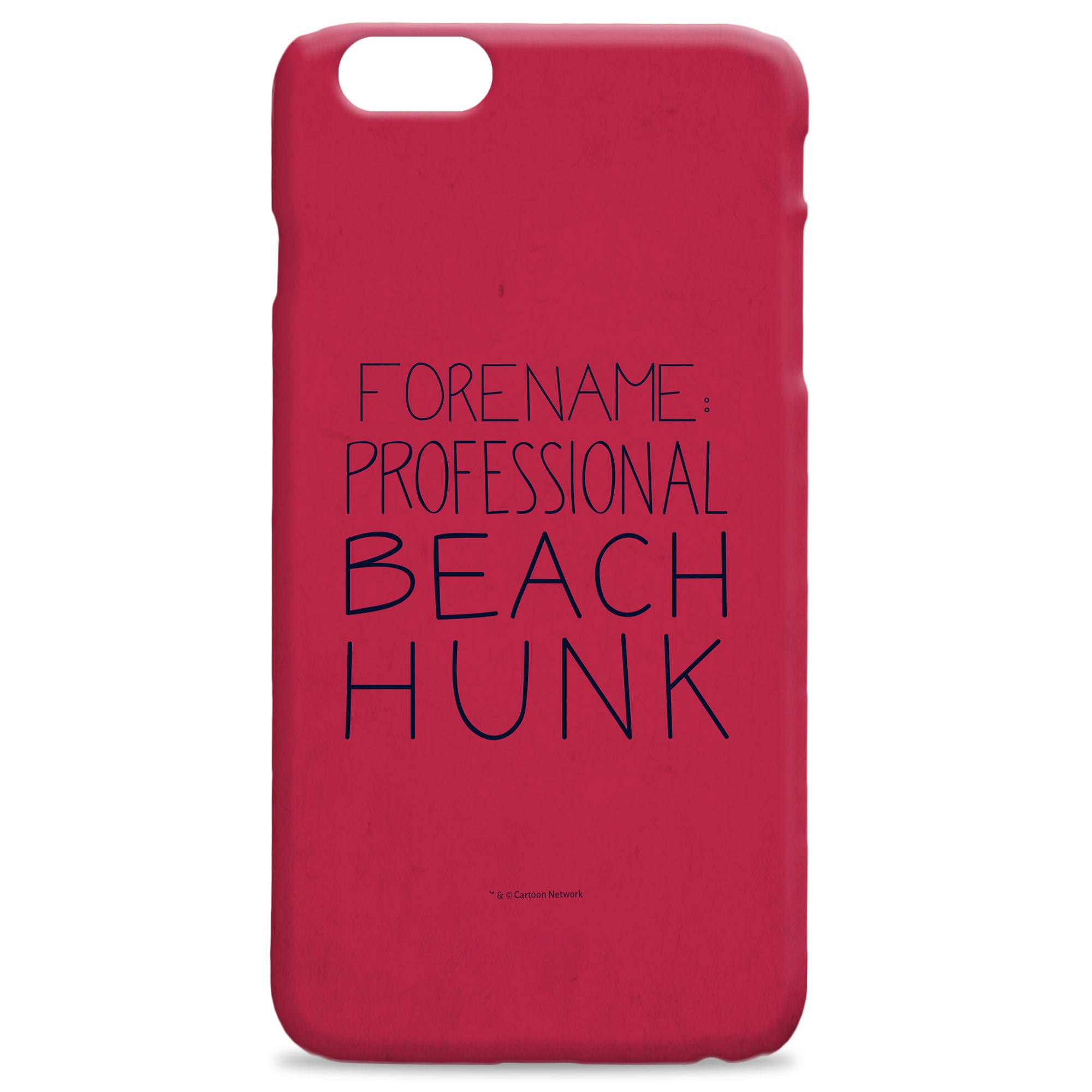 Steven Universe Beach Hunk iPhone Case