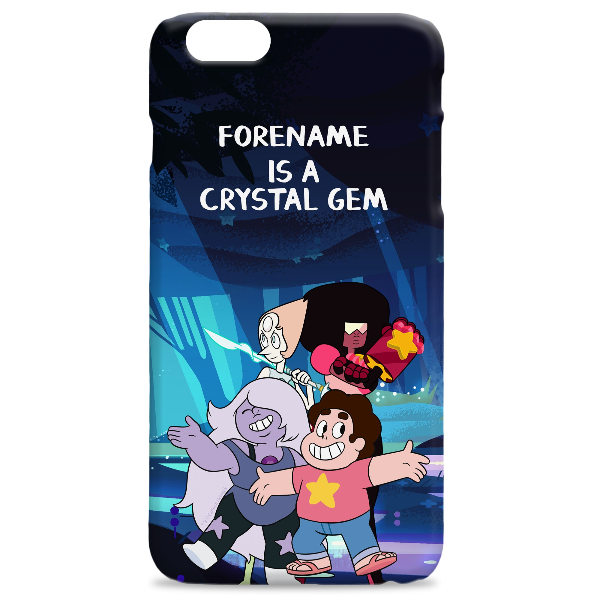 Steven Universe Crystal Gem iPhone Case