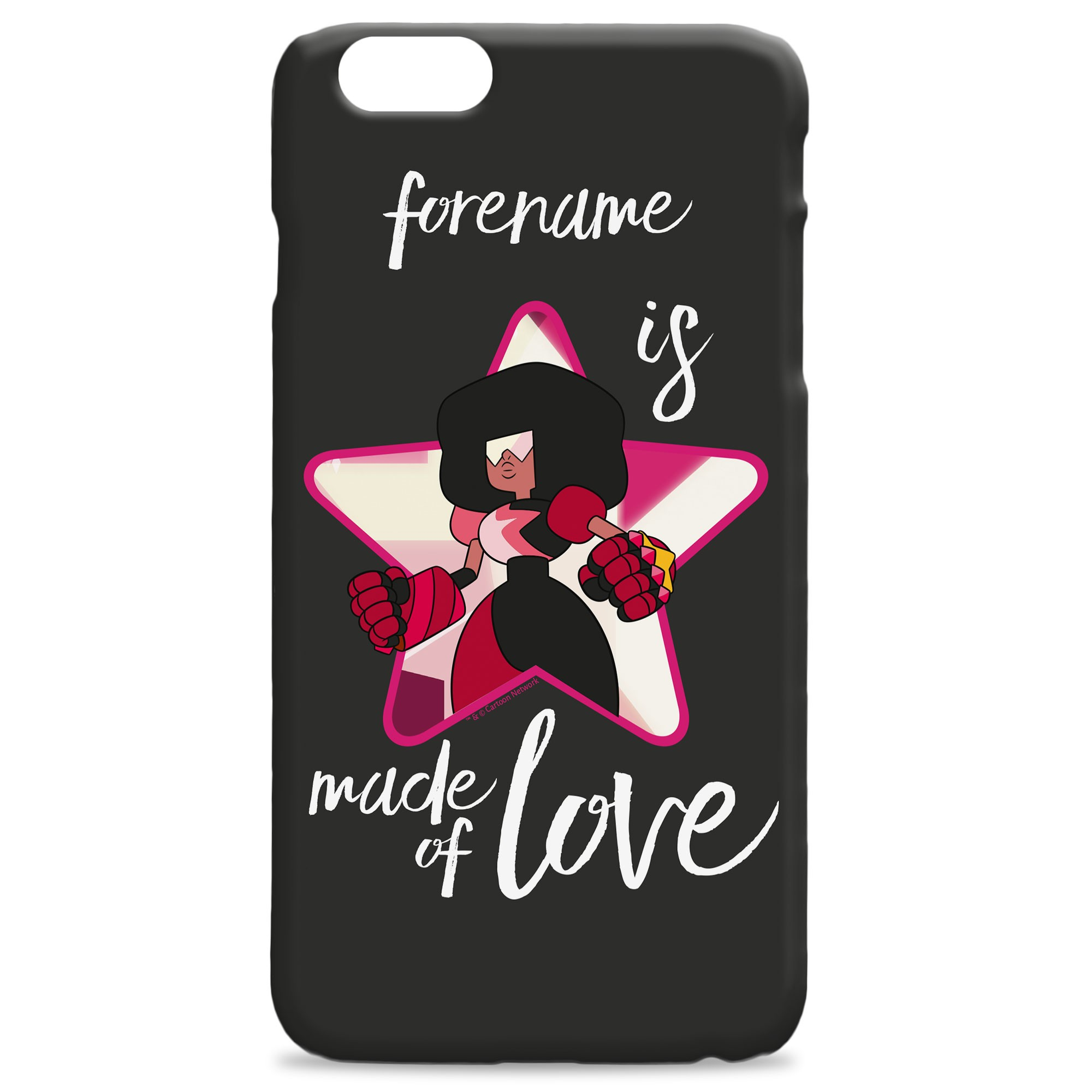 Steven Universe Made Of Love iPhone Case