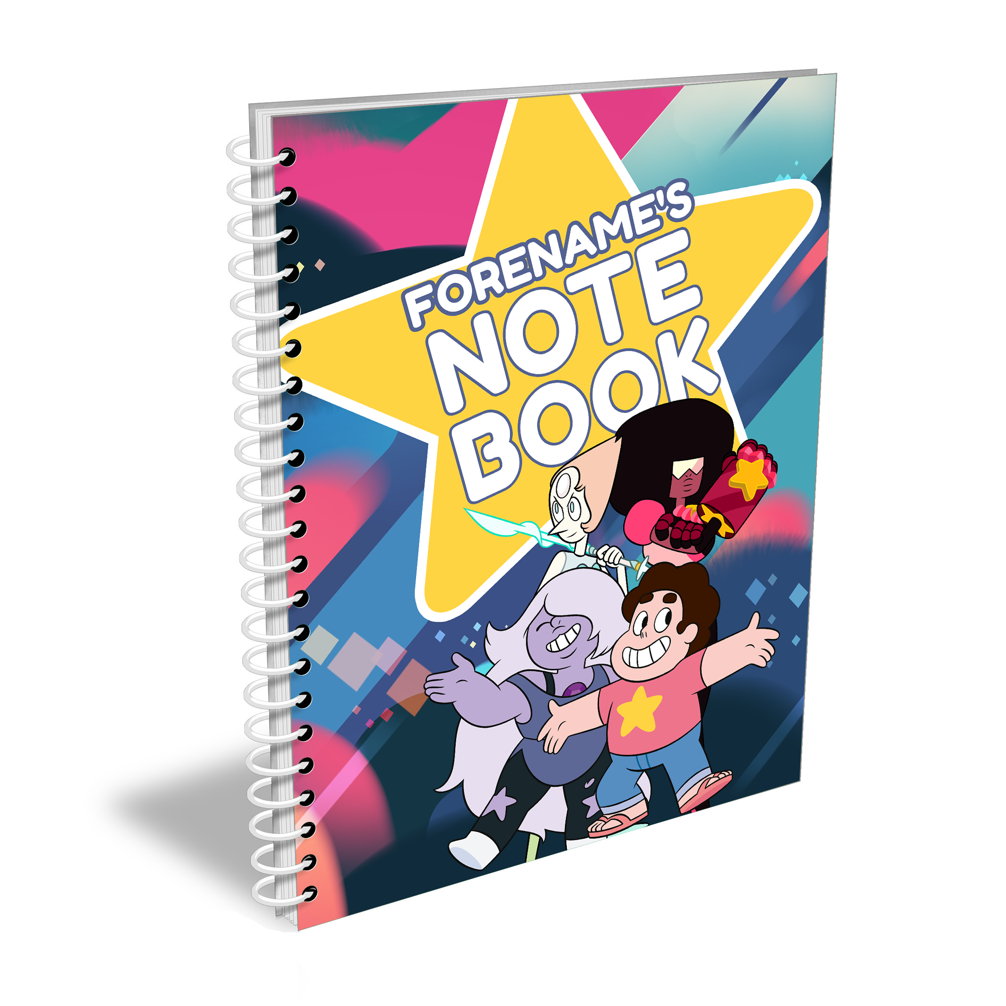 Steven Universe Star Notebook
