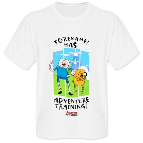 Adventure Time Adventure Training Mens T-shirt