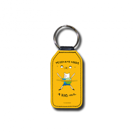 Adventure Time Bro Hug Key Ring