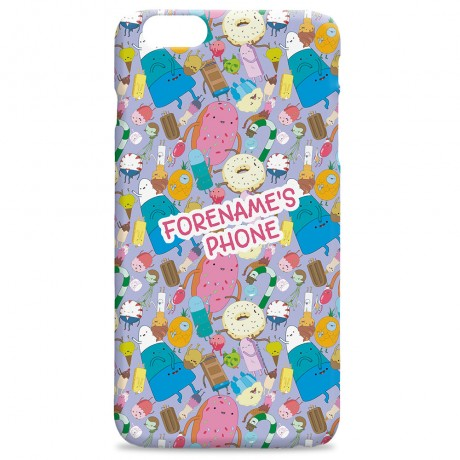 Adventure Time Candy People iPhone Case