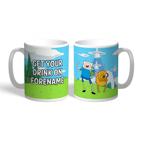 Adventure Time Drink On Mug