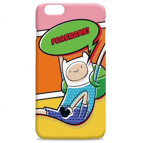 Adventure Time Finn Comic iPhone Case