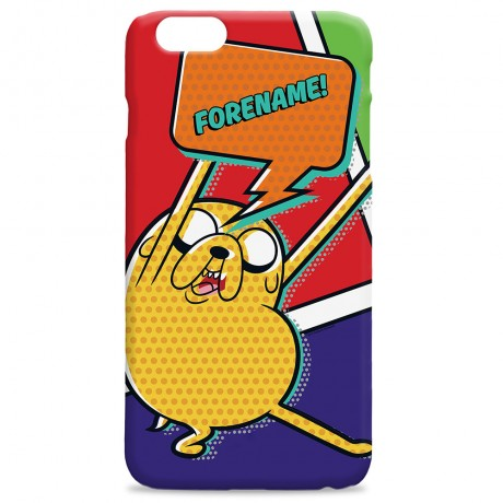 Adventure Time Jake Comic iPhone Case
