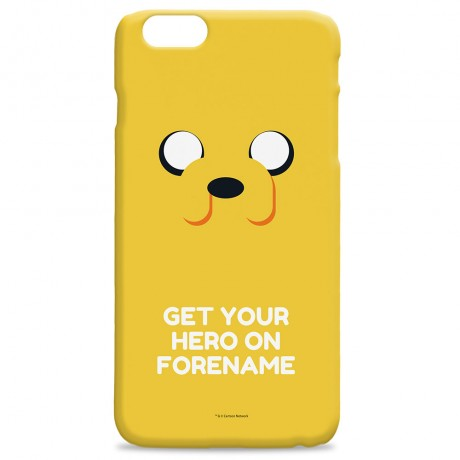 Adventure Time Jake Flat Quote iPhone Case