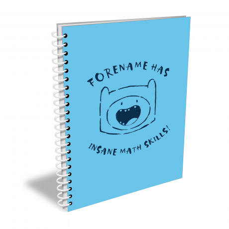 Adventure Time Math Skills Notebook A4