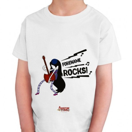 Adventure Time Name Rocks! Kids T-shirt