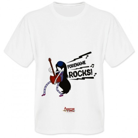 Adventure Time Name Rocks! Mens T-shirt