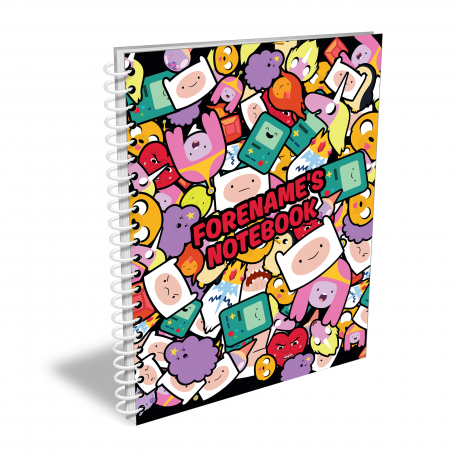 Adventure Time Sticker Notebook A4