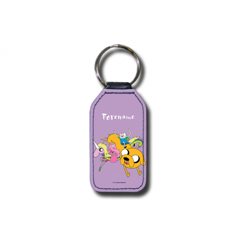 Adventure Time Stupid Forever Key Ring