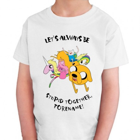 Adventure Time Stupid Forever Kids T-shirt