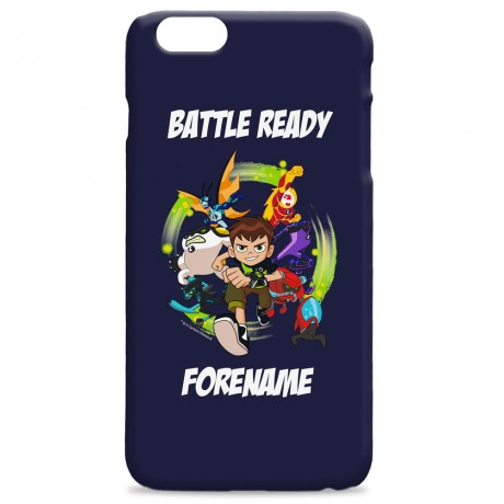 Ben 10 Battle Ready iPhone Case