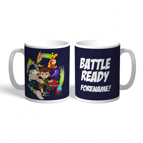 Ben 10 Battle Ready Mug