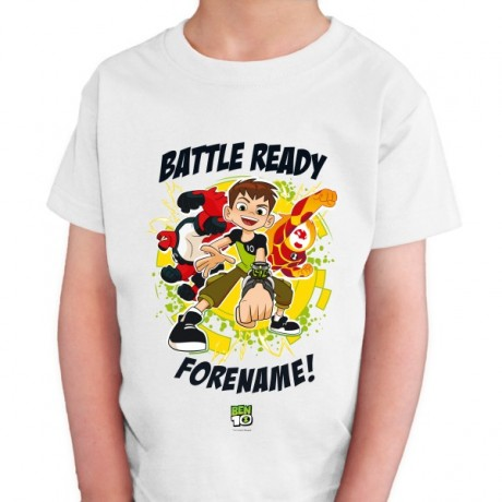 Ben 10 Battle Ready One Kids T-Shirt