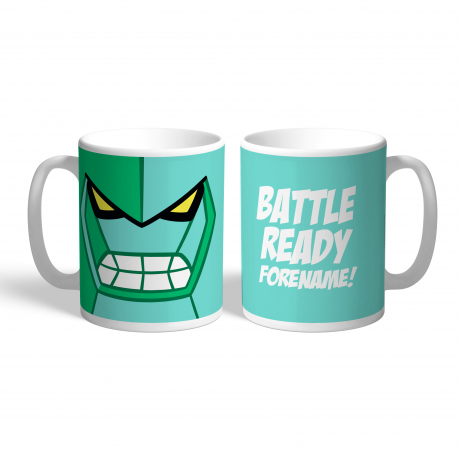 Ben 10 Diamondhead Flat Hero Time Mug
