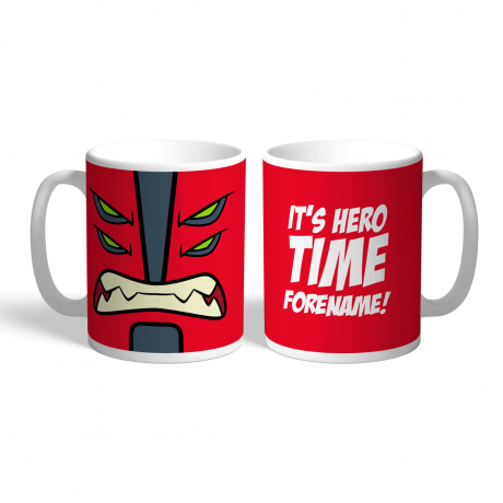 Ben 10 Four Arms Flat Hero Time Mug