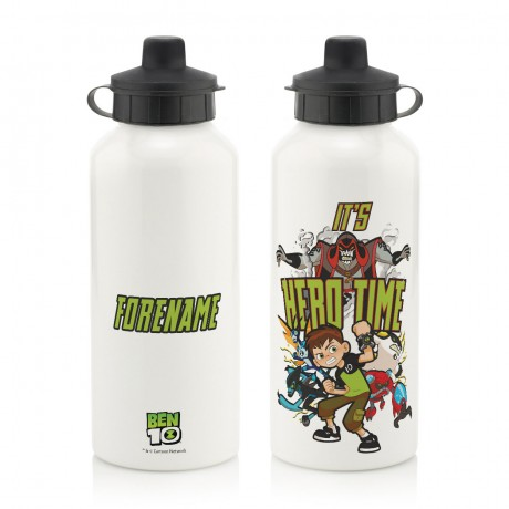 Ben 10 Hero Time Badge Water Bottle