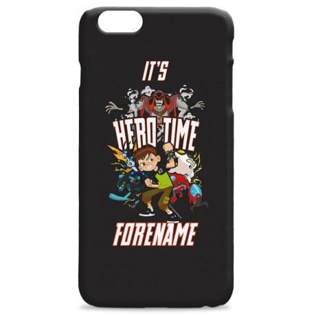 Ben 10 Hero Time iPhone Case