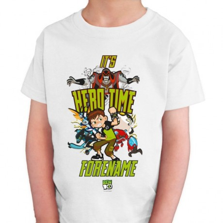 Ben 10 Hero Time Kids T-shirt
