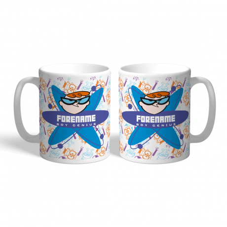 Dexter's Lab Boy Genius Mug