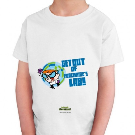Dexter's Lab Get Out Kids T-shirt