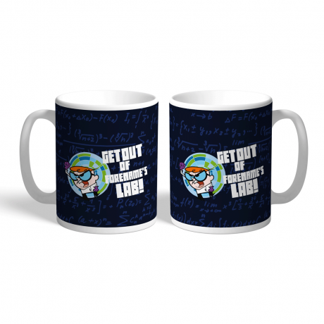 Dexter's Lab Get Out Mug
