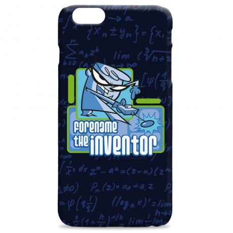 Dexter's Lab Inventor iPhone Case