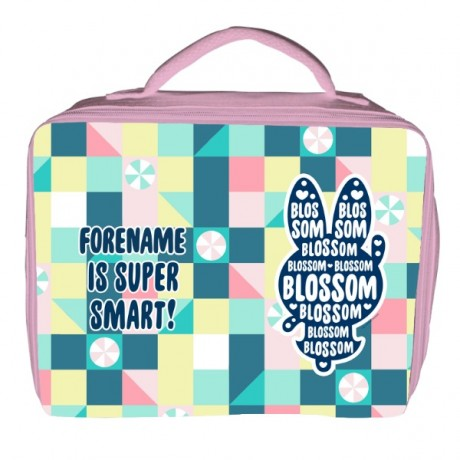 Powerpuff Girls Blossom Silhouette Insulated Lunch Bag - Pink