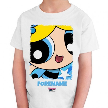 Powerpuff Girls Bubbles Comic Kids T-shirt