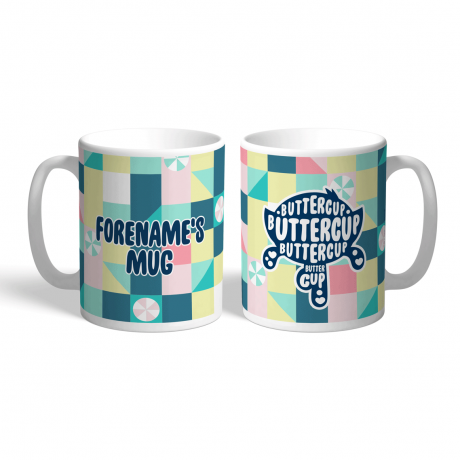 Powerpuff Girls Buttercup Silhouette Mug